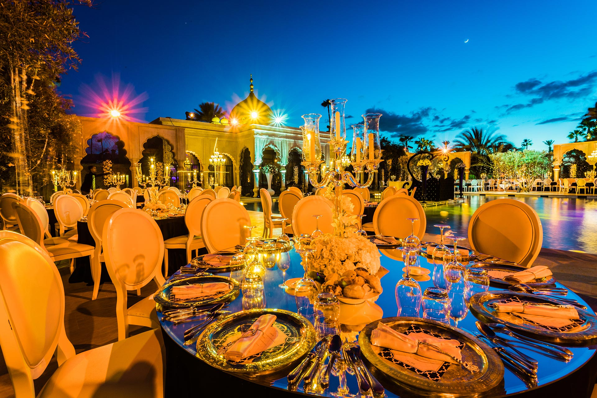 Moroccan Palace Wedding
