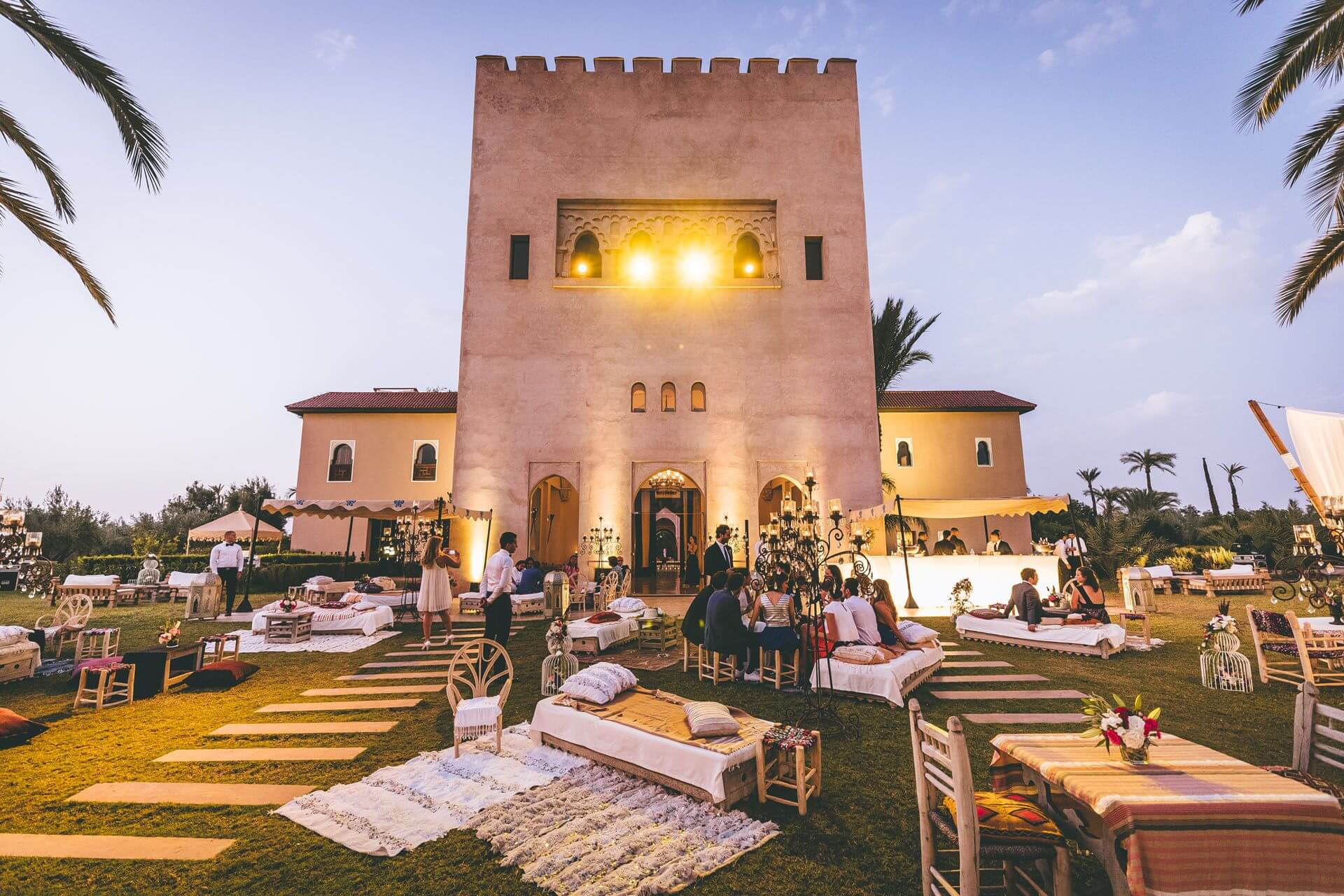 Bohemian Chic Wedding Marrakech